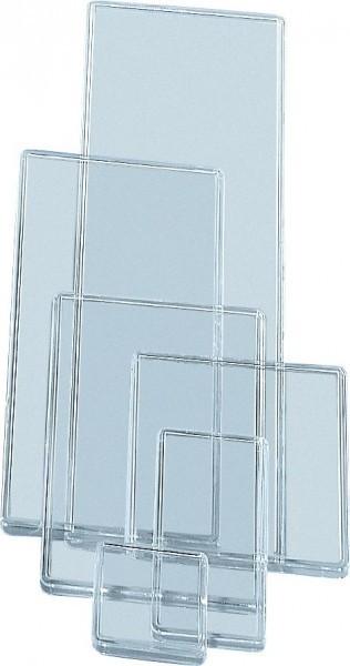 10 Deckel für Einsatzbox, 324 x 108 mm, glasklar