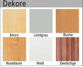 Vierfusstisch B/T: 1600 x 690 mm mit rundem Tischfuss, Platte: Ahorn, Gestellfarbe: Chrom – Bild 2