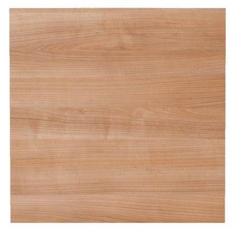 Tischplatte KP08, 80 x 80 cm, Platte: Nußbaum
