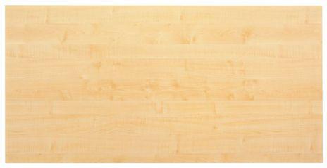 Tischplatte KP16, 160 x 80 cm, Platte: Ahorn