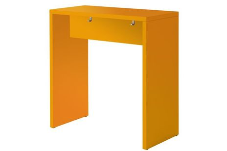 Stehtisch MP104 (B/T/H) 104 x 50 x 108,3 cm, orange – Bild 1