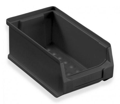 Sichtbox ESD Grip Gr.2, 24 Stück, schwarz