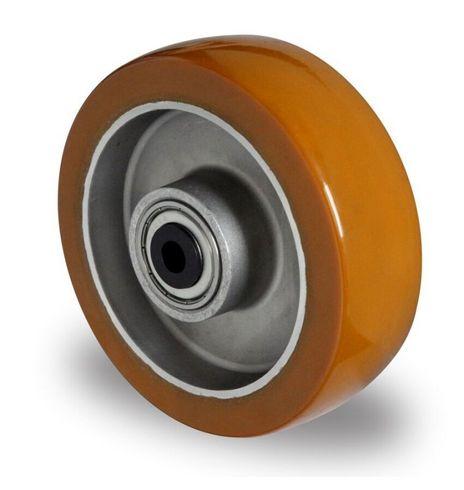 Einbaurad mit Achsmaterial aus Aluminium Ø 100mm
