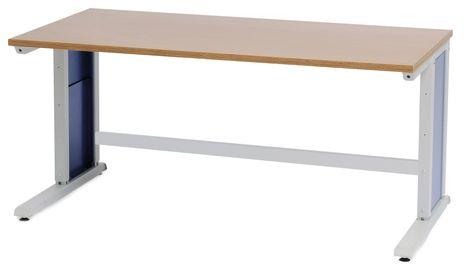 Workergo Grundtisch, C-Fuß 1500x 750 x 25 mm – Bild 1