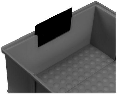 Auszugsicherung für ESD-Regalbox, 10 Stück