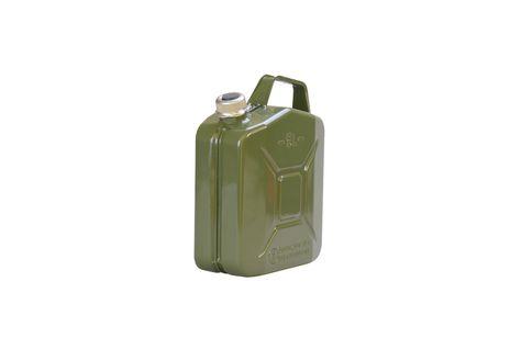Metall-Kraftstoff-Kanister PREMIUM 5 L, oliv