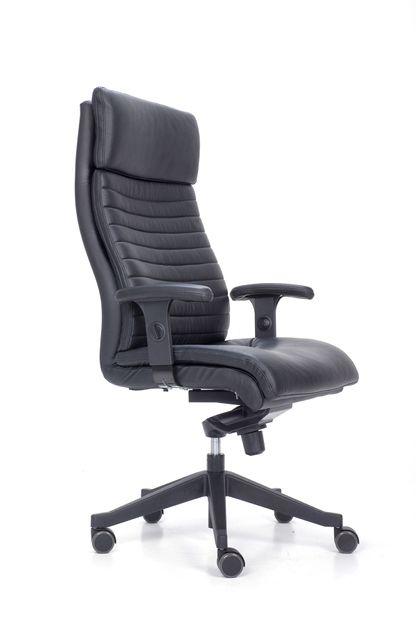 Bürostuhl Wachter LOLLIPOP XL - Echtleder – Bild 2