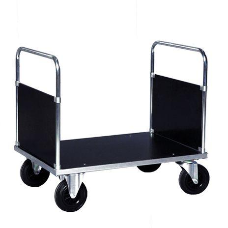 Doppelstirnwandwagen verzinkt, 1150 x 800 mm Lädefläche