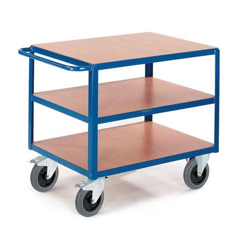 Tischwagen mit 3 Ladeflächen 850x500mm
