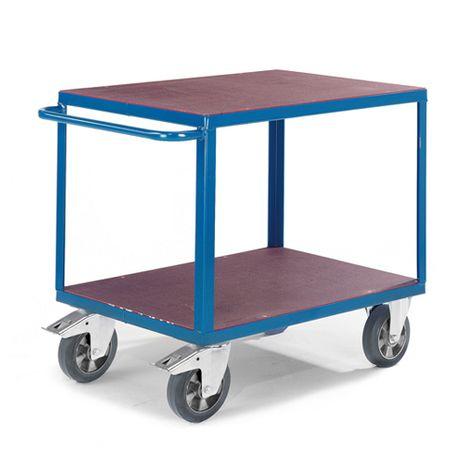 Tischwagen mit 2 Ladeflächen 1000x700mm