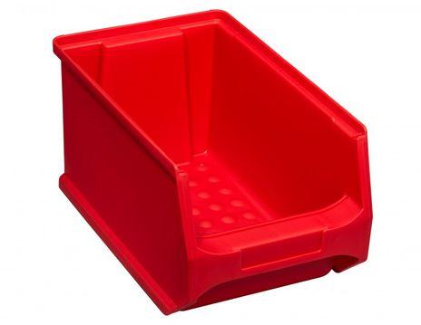 Stapelsichtbox GripBox Gr.3, rot, 24 Stück