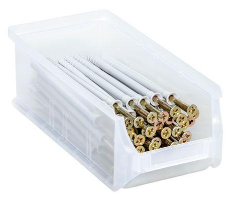 """Stapelsichtbox, """"ProfiPlus Box Gr.2L"""", 120 St. transparent – Bild 2"""