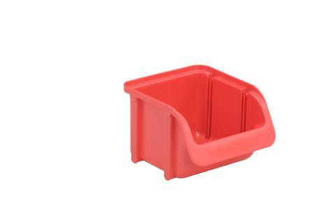 Sichtbox PP, 1 Stück, Gr. 1, rot