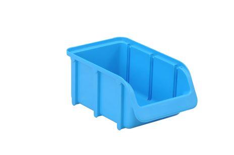Sichtbox PP, Gr. 2, 1 Stück, blau