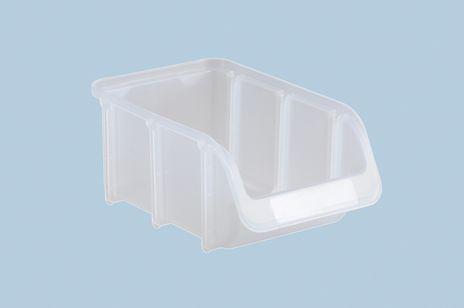 Sichtbox PP, Gr. 2, transparent, 1 Stück