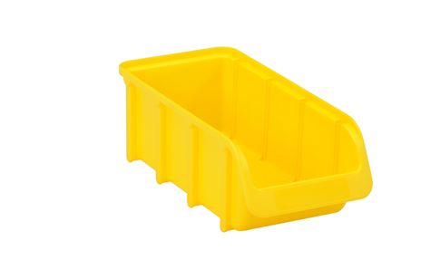 Sichtbox PP, Gr. 2/L, gelb, 1 Stück