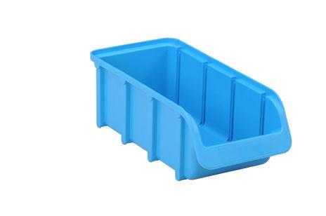 Sichtbox PP, Gr. 2/L, blau, 1 Stück