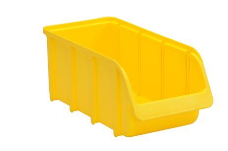 Sichtbox PP, Gr. 3/L, gelb, 1 Stück