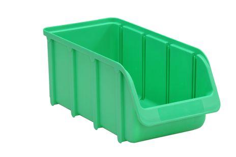 Sichtbox PP, Gr. 3/L, grün, 1 Stück