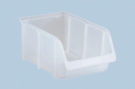 Sichtbox PP, Gr. 4, transparent, 1 Stück