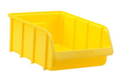 Sichtbox PP, Gr. 5, gelb, 1 Stück