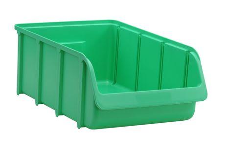 Sichtbox PP, Gr. 5, grün, 1 Stück