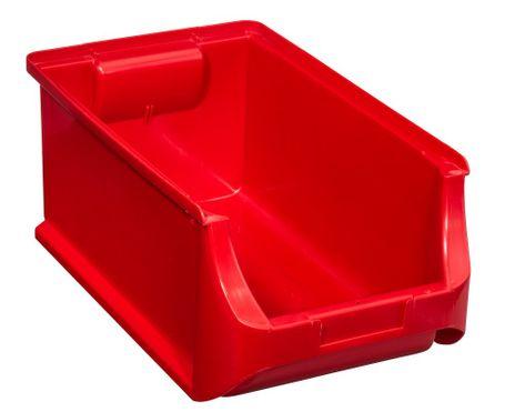 """Stapelsichtbox,  """"ProfiPlus Box Gr.4"""" 12 St., rot"""
