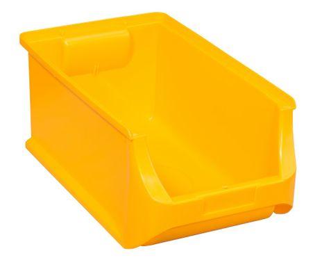 """Stapelsichtbox,  """"ProfiPlus Box Gr.4"""" 12 St., gelb"""