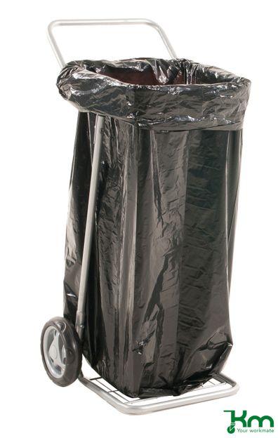 Sackkarre und Müllsackständer