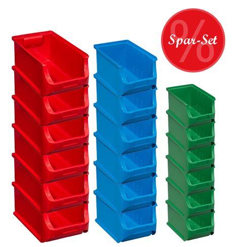 Sparset:18-teiliges Sichtboxen-Set