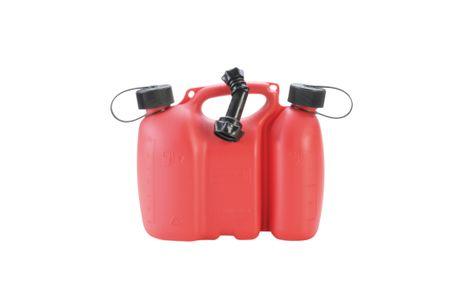 "Doppelkanister ""Profi"", 3 +1,5 L, rot, HD-PE"