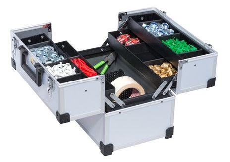 Werkzeug- und Freizeitkoffer, AluPlus Tool >L< 36C – Bild 1