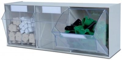 Ersatz-Kippschubladen für MultiStore 3, transparent