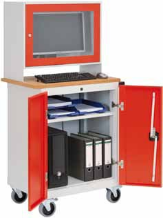 Computerschrank mobil Office2 – Bild 1