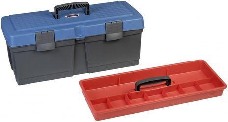 Werkzeugkoffer Alpha 22, PP, blau