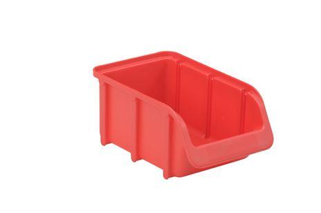 Sichtbox PP, Gr. 2, rot, 24 Stück