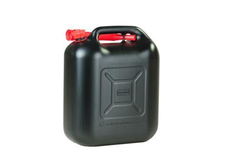 Kraftstoff Kanister (UN) 20 L, schwarz mit UN-Zulassung