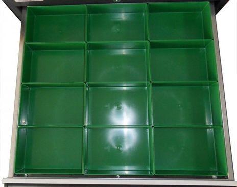 Einsatzboxen Set für Schubladen 500 x 450 mm, R 20 - 18 – Bild 1