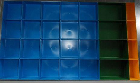 Einsatzboxen Set für Schubladen 800 x 450 mm, R 32 - 18 – Bild 1