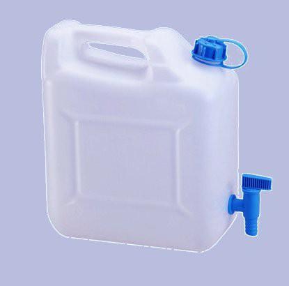 """Wasser-Kanister """"ECO"""" 10 L mit Ablasshahn, natur"""