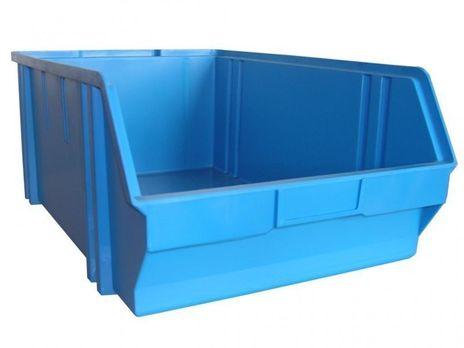 Sichtbox PS, Gr. 5, 1 Stück, blau