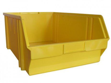 Sichtbox PS, Gr. 5, 1 Stück, gelb