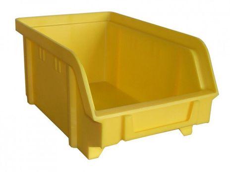 Sichtbox PS, Gr. 2, 24 Stück, gelb