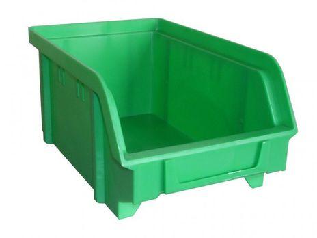 Sichtbox PS, Gr. 2, 24 Stück, grün