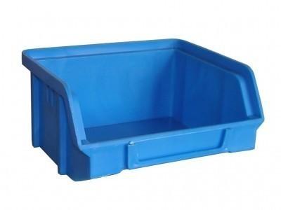 Sichtbox PS, Gr. 1, 30 Stück blau