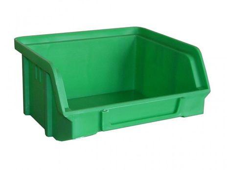 Sichtbox PS, Gr. 1, 30 Stück, grün