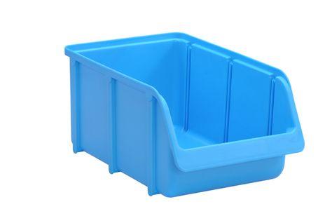 Sichtbox PP, Gr. 4, 12 Stück, blau