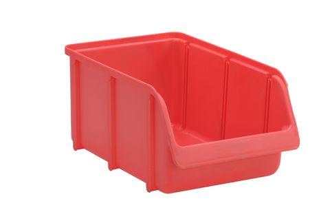 Sichtbox PP, Gr. 4, 12 Stück, rot