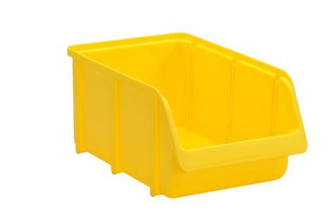 Sichtbox PP, Gr. 4, 12 Stück, gelb
