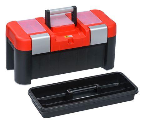 Werkzeugkoffer McPlus Alu 21, schwarz – Bild 1